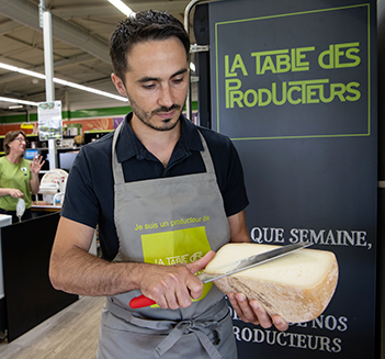 Groupe Euralis - Coopérative Agricole et agroalimentaire - Marque La Table des Producteurs